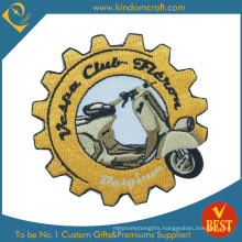 Custom Fashion Embroidery Motorcycle Patches/Badges