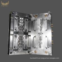 Molde de hebilla de cinturón de moldeo por inyección de plástico de precisión pa66