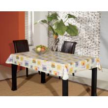 Toalha de mesa impressa em PEVA (TJ0058D)