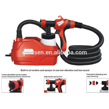 600W HVLP Floor Based Power Paint Spraying Gun Electric Backpack Sprayer GW8178