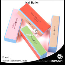 4-х полосный красочный буфер для ногтей