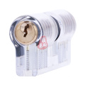 Transparent Ab Cutway Practice Cylinder Lock with 5 Pins