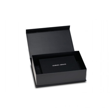 Black Art Paper Luxury Brand Collapsible Box