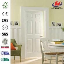 Textured 6-Panel Hollow Core Primed Composite Interior Door