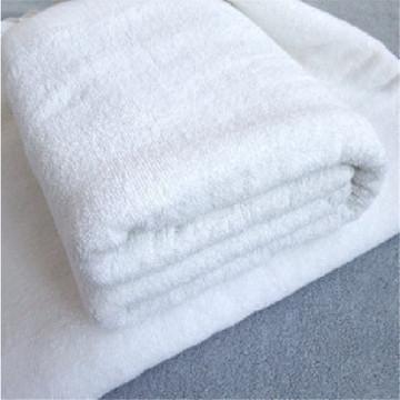 Toalla del pie del baño de la armadura del waffle del algodón blanco