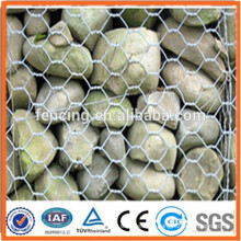 Anti-corrosion hot dipped galvanized gabion wire mesh