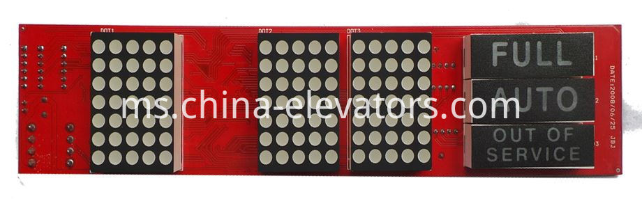 Hyundai Elevator HPI Display Board HPID-CAN V3.1 / 262C188