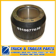 Trailer Parts of Brake Drum 0310677630 for BPW