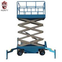 14 m 0,3 tonne charge chine fournisseur CE pas cher jlg moto mobile scissor lift