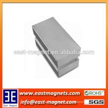 Cheap N35-N50 Nickel Strong Block sintered permanent Neodymium Magnet