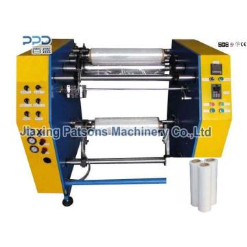 Chine Profession Fabrication Semi-automatique Stretch Film Rewinding Machinery