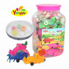 Bottle Packing Kalabasa Balloon Car Confectionery Toys For Kids
