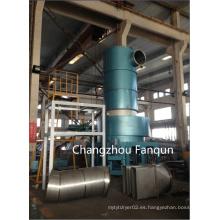 Secador de destello de la espina del acero inoxidable para el producto de PCC