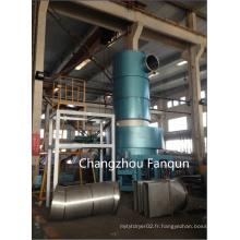 Séchoir flash Spin en acier inoxydable pour produit PCC