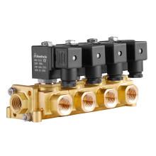 Válvula solenoide de agua de acción directa de 2 vías (SLE)