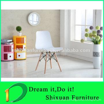venta caliente nueva silla de plástico lesure de diseño