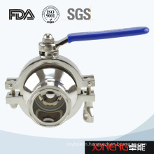 Stainless Steel Sanitary Non Retention Ball Valve (JN-BLV2006)