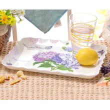 (BC-TM1022) Hot-Sell High Quality Reusable Melamine Serving Tray