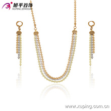 63437 Xuping Fashion jewelry supplier Elegant Jewelry Set 2017 hot selling