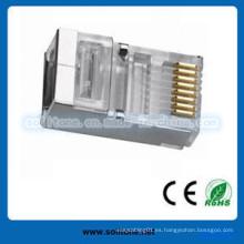 Conector Plug / Modular Cat5e RJ45 FTP