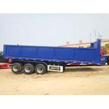 3 axle dumping tipper trailer