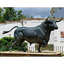 bronze usine métal artisanat bronze corrida sculpture à vendre