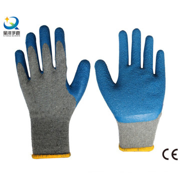 10g Cotton Shell Latex Thumb Fully Coated Work Glove