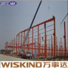Office Large Span Frame Steel Warehouse