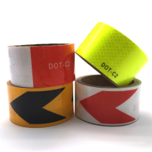Non Reflective Adhesive Yellow Black Floor Marking Tape