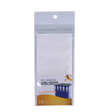 Self Adhesive Label Holder