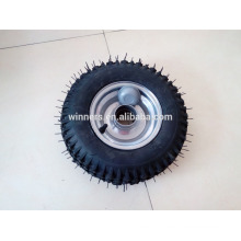 3.50-8 y pneumatic rubber wheel
