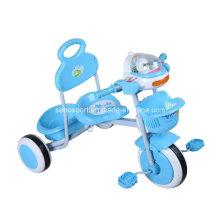 Venta al por mayor triciclo de los niños del color azul simple (TRBL305)