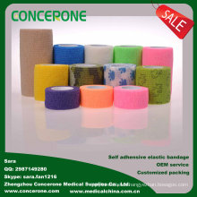 Self-Adhesive Elastic Bandage, Veterinary Elastic Bandage, Printed Cohesive Elastic Bandage