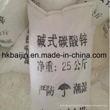 Bon prix carbonate de zinc de qualité industrielle