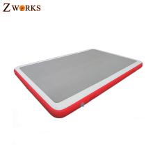 Personalizado duas camadas de nylon pega à prova d 'água antiderrapante mat água