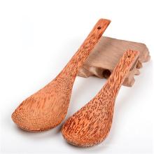 cuchara de madera de coco vietnam novedad