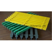 Caillebotis Pultruded de FRP / GRP, T-3320, 50 * 25.4 * 38.1 * 12.7mm, grille Pultruded, Fiberlass.