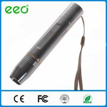 Aço inoxidável recarregável Jade testando lanterna, lanterna led, 18650 lanterna de aço inoxidável