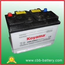 Bester Preis Auto-Batterie 12V66ah trockene aufgeladene Auto-Batterie für Auto