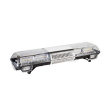 140W Warning Signal Rescue Used Amber Color Wholesale Led Strobe Light Bar With Siren Speaker For Sale