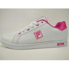 White Mesh Casual Skateball Footwear Women Shoes