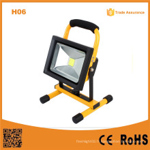 H06 2015 High Power 20W Super Bright Rechargebale LED Flood Light