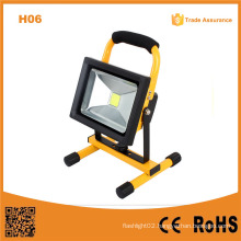 H06 2015 High Power 20W Super Bright Rechargebale LED Flood Light