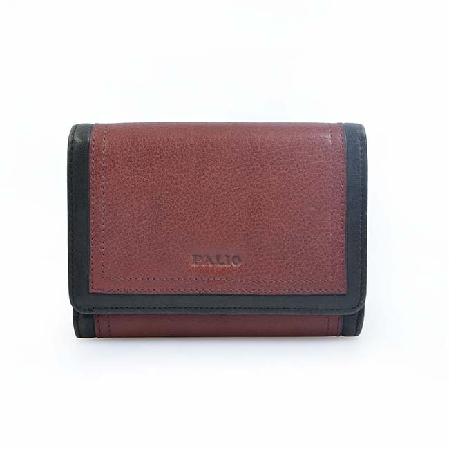Brand Genuine Leather Short Ladies Purse Women Wallet