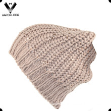 Promotional High Quality Fashion Thick Knitted Hat