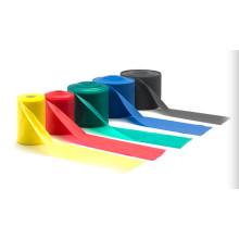 Faixa da resistência de estiramento da borracha dos pilates da ioga de 1.5m