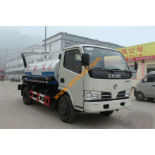 4CBM Dongfeng Fecal Suction Truck Euro4