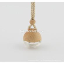 5ml hängenden Holzdeckel Auto Parfümflasche