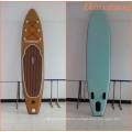 2016 bestes hölzernes Drop Stitch Stand Up Paddle Board mit Pumpe, Tasche