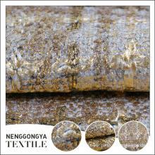 Logotipo personalizado Diferentes tipos de tecido de poliéster bonito slub